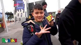 WCAs Rubiks Cube Mosaic of Chris Hemsworth
