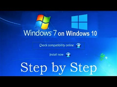 How to Install Windows 7 on Windows 10 without CD, DVD and USB flash drive (Complete Tutorial)