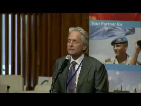 Michael Douglas (UN Messenger of Peace) on Nuclear Disarmament