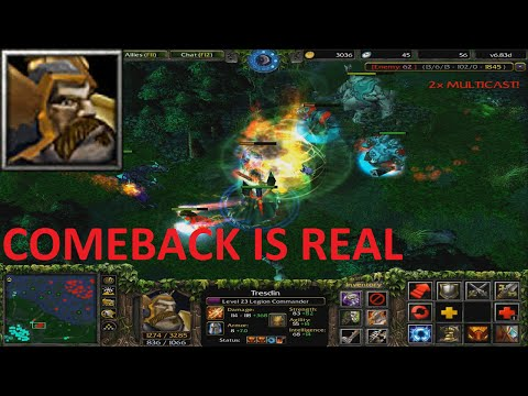 DotA 6.83d Legion Commander - COMEBACK IS REAL