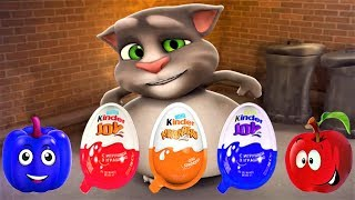 Talking Tom Cat - Tom Cat And Friends - Series Interesting Meal - Fun Video For Kids Episodes 46