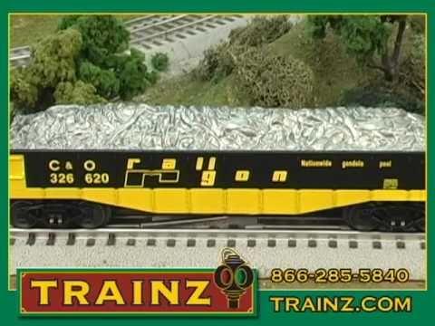 Lionel Chessie System Freight Train Set from TRAINZ.COM