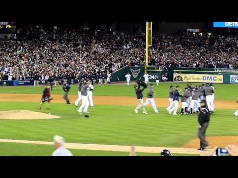 Detroit Tigers wint he 2012 American League Championship... October 18, 2012