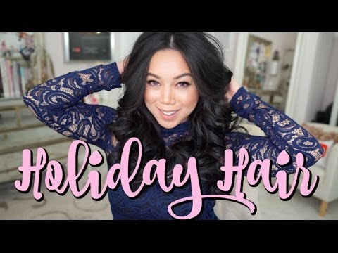 AFFORDABLE Holiday Hair Tutorial! - itsjudytime