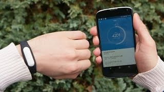 Фитнес трекер! Правдивый Обзор фитнес браслета Xiaomi Mi Band