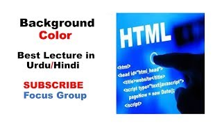 11. How to Change Background Color of Web Page | HTML | Lecture in Urdu/Hindi