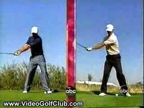 Tiger Woods vs. Adam Scoot Swing Videos