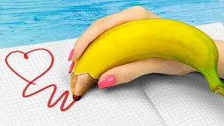 10 DIY Weird Summer School Supplies You Need To Try / Funny Pranks!