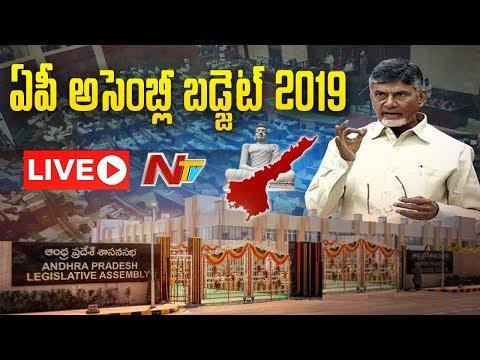 AP Assembly Budget Session 2019 LIVE | AP Assembly LIVE | Chandrababu | NTV