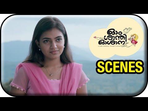 Om Shanti Oshana Movie Scenes HD | Nivin Pauly rejects Nazriya's proposal | Aju Varghese