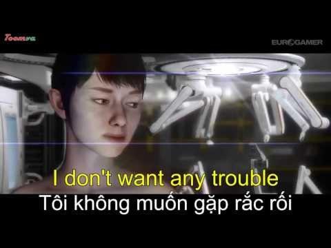 Học tiếng Anh Online qua video song ngữ Quantic Dreams Kara HD3