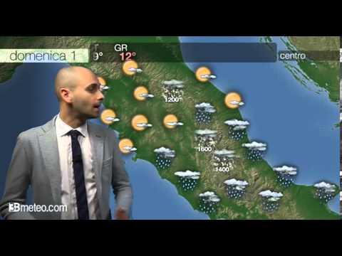 Previsioni meteo Video per domenica, 01 dicembre