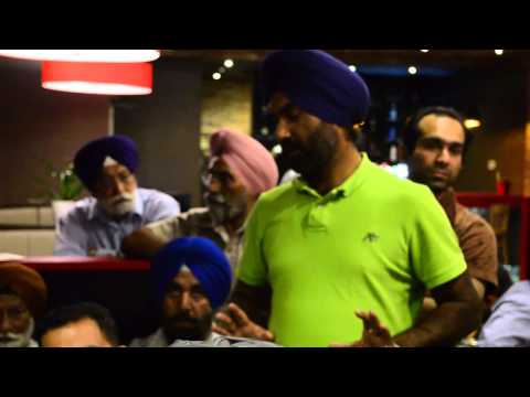 Akali Dal Supporter insults Toronto Punjabi Media