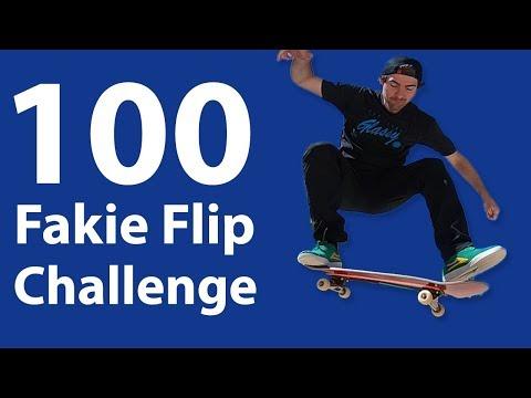 Mikemo 100 Flatground Challenge: Fakie Flips