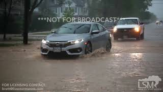 05-18-2018 Rapid City, SD - Flash Flooding Hail Accumulation