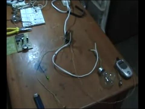 sistema laser casero 2