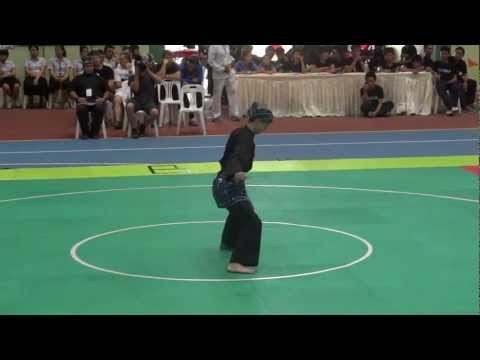 Jurus Tunggal at the Pencak Silat World Champsionship 2012 Image 1