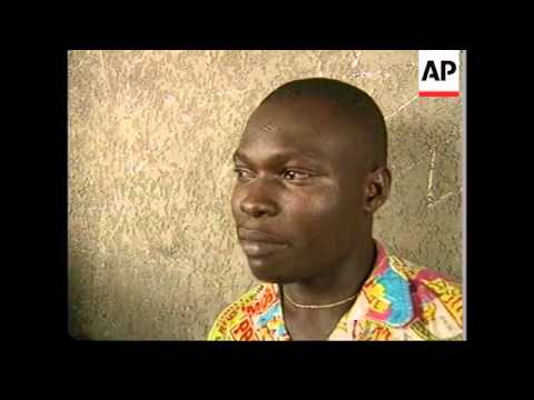 ZAIRE: KISANGANI: UN WORLD FOOD PROGRAMME PLANE ARRIVES WITH AID