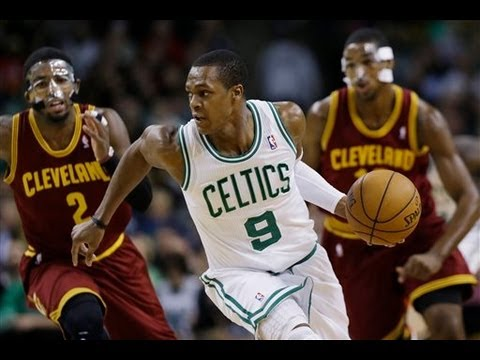 Rajon Rondo 20 points,8 assists vs Kyrie Irving - Highlights vs Cleveland Cavaliers 12/19/2012
