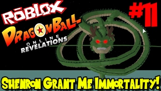 SHENRON GRANT ME IMMORTALITY! | Roblox: Dragon Ball Online Revelations UPDATE - Episode 11