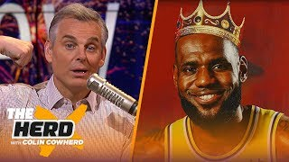 Colin hands out 2020 New Year's resolutions for sports personalities with Joy Taylor | THE HERD