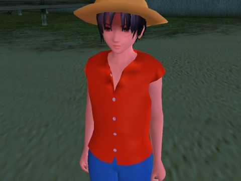 Monkey D. Luffy beta 1 AG3 DEMO 人工少女3