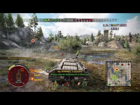 World of Tanks (ps4) T95 Top Gun