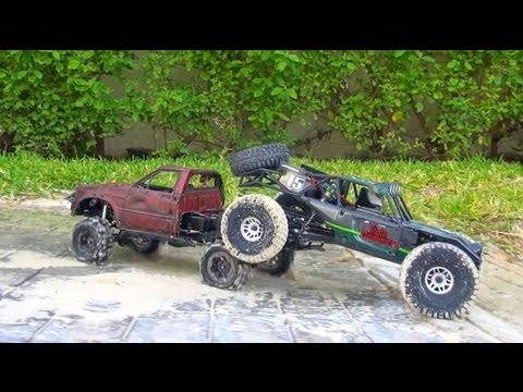 RC ADVENTURES - Vaterra Twin Hammers RTR & RC4WD Trail Finder 2 - in MEXiCO!  PART 2