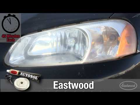 Plastic Headlight Refinishing Kit Head-to-Head Comparison from Eastwood