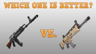 SCAR VS HEAVY AR: WHICH ONE SHOULD YOU USE? (FORTNITE: BR)