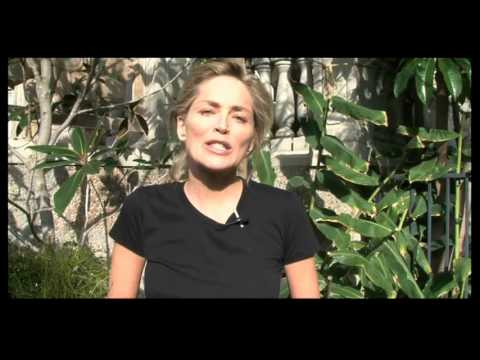Sharon Stone helps bring clean water to Haiti