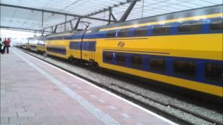 Omroep intercity Amsterdam CS te Rotterdam