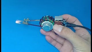 How to make a small and powerful induction soldering iron