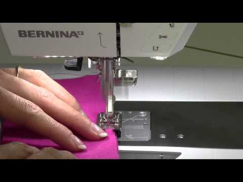 Bernina 710 37 Double Overlock Stitch