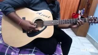 Mere rang me rangne wali guitar instrumental