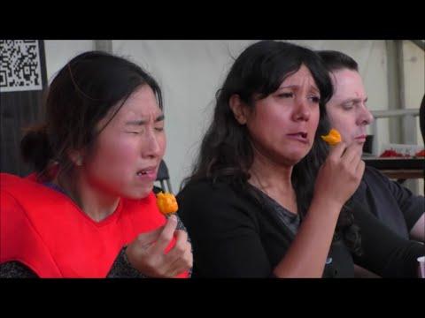 Chilli Eating Contest   Upton Cheyney Chili Festival   Sunday 13 Sept 2015