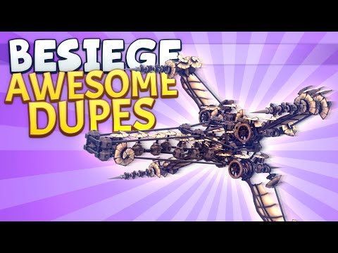 Besiege Awesome Stuff - X-wing video