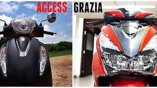 Honda Grazia vs Access 125 Which is Better and Why? #ScooterFest