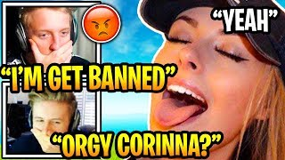 Tfue and Corinna On a DOUBLE DATE With Symfuhny and Brooke (Tfue Banned!?!)