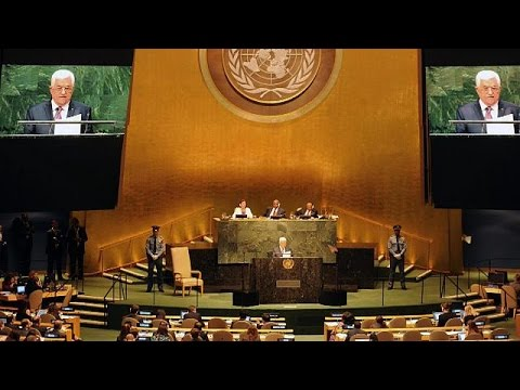 Abbas describes Israel's 'war of genocide'