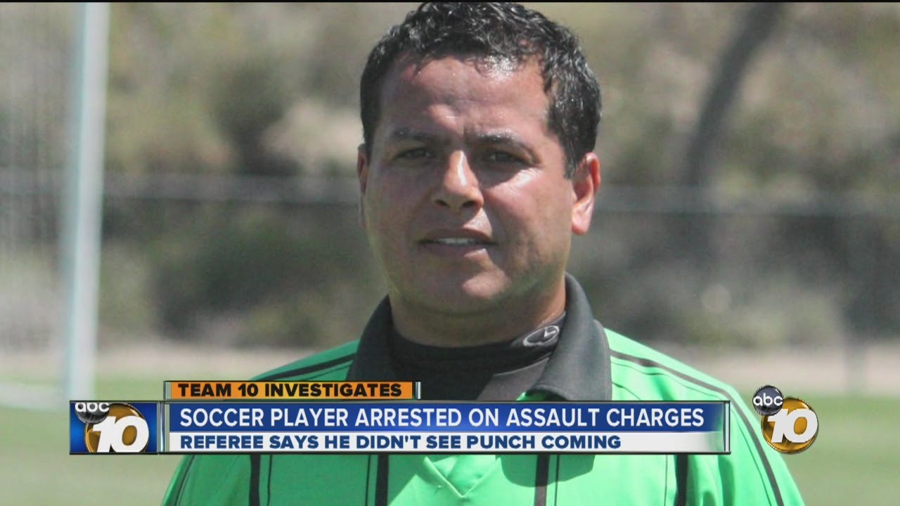Punching Referee Arrested