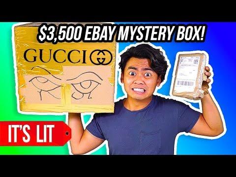 3,500 VS 20 EBAY MYSTERY BOX! Gucci