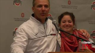 Urban Meyer speaks after No. 2 Ohio State beats No. 3 Michigan 30-27