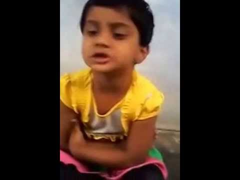 TELANGANA FORMATION DAY SONG (6tv) Sung by 2 years cute baby
