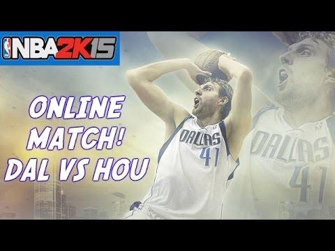 NBA 2K15 Online Match | Dallas Mavericks vs Houston Rockets! (XBOX ONE Gameplay)