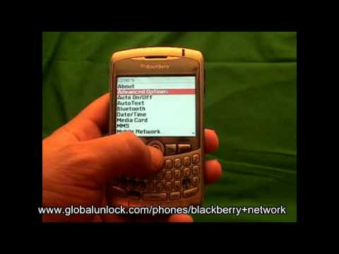 Video: Blackberry Unlock Code - Any GSM Model Inc Curve or Bold Unlock Blackberry QUICK AND EASY!!!