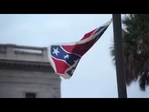 [KeepItDown_ Confederate_ Flag Takedown] Video