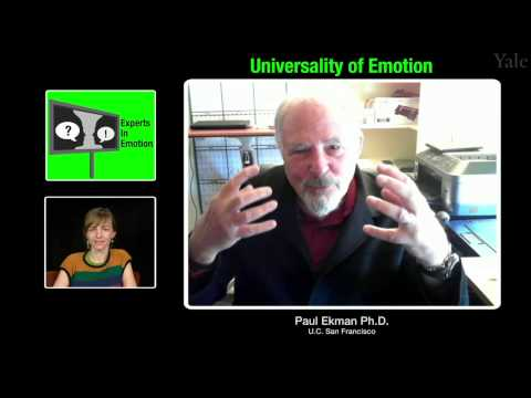 Experts in Emotion 4.2 -- Paul Ekman on Universality of Emotion