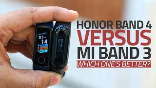 Honor Band 4 vs Xiaomi Mi Band 3 | Which One's a Better Activity Tracker?