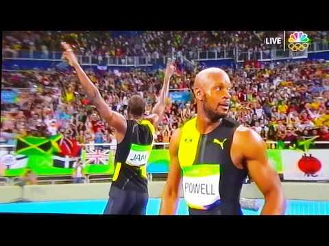 Jamaica Won The Olympic 4x100M